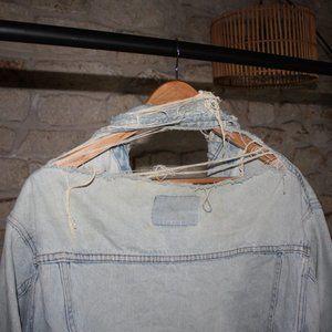 GAP Jackets & Coats - Vintage The GAP Faded Light Blue Denim Jacket
